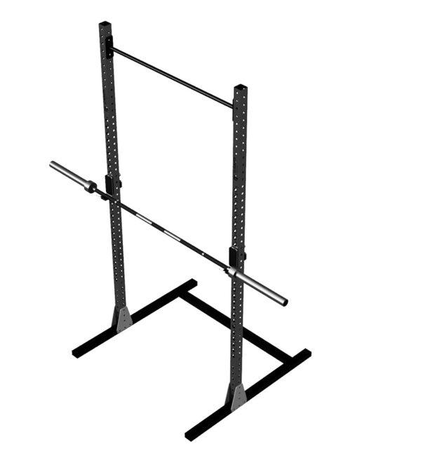 rack treningowy, fitness, sprzęt na siłownię, wyposażenie crossfit
