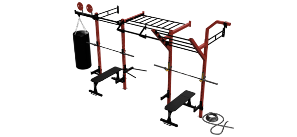 brama montowana do ściany, akcesoria treningowe, lina do wspinaczki, brama crossfit, rigs&racks, sklep sportowy wrocław