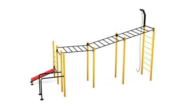 siłownia zewnętrzna street workout dla miast i gmin