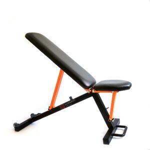 ławeczka do ćwiczeń crossfit, sprzęt domowy, ławka fitness regulowana na siłownię