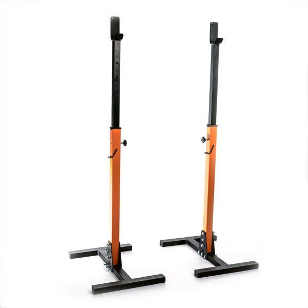 stojaki do ćwiczeń ze sztangę w domu, w klubach fitness i siłowniach, trening ze sztangą