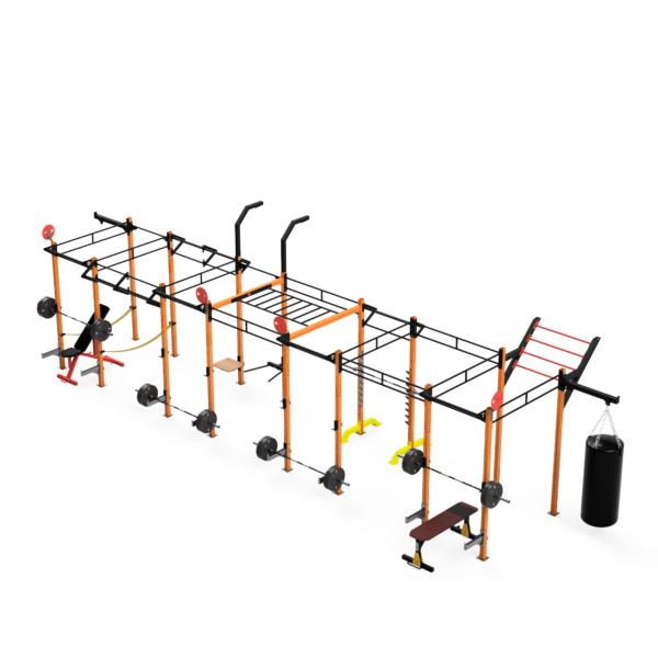 klatka treningowa rig1618 od hammer tech, brama do ćwiczeń crossfit do klubu fitness i siłowni